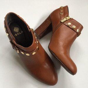 EUC Isola leather booties